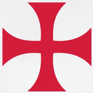 cross_of_the_templars Tee shirts - Casquette classique