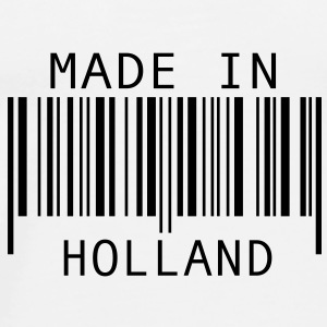 Made in Holland Buttons - Mannen Premium T-shirt