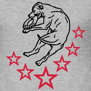 www.dog-power.nl - Slim Fit T-shirt herr