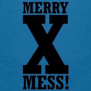 Christmas - X-Mess! Accessories - Women's V-Neck T-Shirt