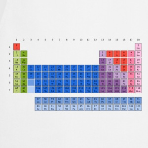 Periodensystem der Elemente (PSE) Periodic Table of the Elements T-Shirts - Kochschürze