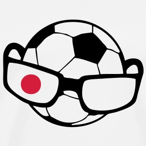 ballon foot lunette japon1 Sweat-shirts - T-shirt Premium Homme