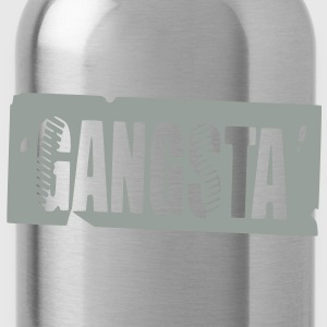 gangsta Caps & Hats - Water Bottle