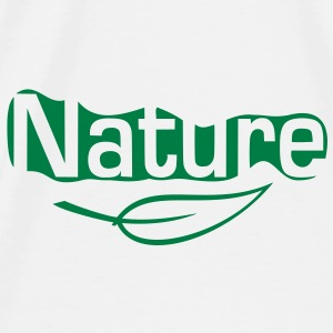 nature Accessories - Herre premium T-shirt