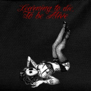 Darken Pin-up - learning to die to be alive - Sac à dos Enfant