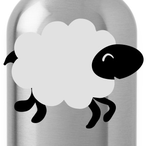 running sheep  T-Shirts - Water Bottle