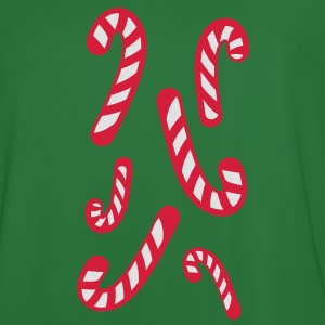 candy cane candy canes christmas Hoodies & Sweatshirts - Men's Football Jersey