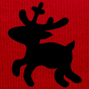 Christmas Reindeer deer T-Shirts - Winter Hat