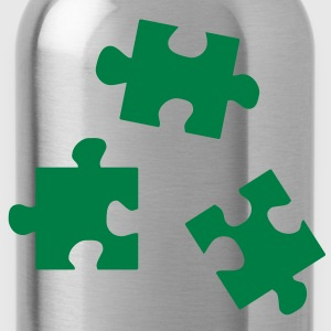 Puzzleteile Puzzle - jigsaw puzzle Pullover - Trinkflasche
