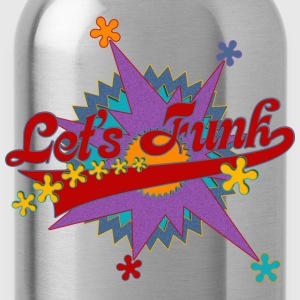 LET'S FUNK - funky music | Männershirt Retro Style - Trinkflasche