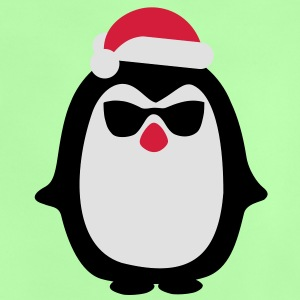 Santa penguin Kids' Tops - Baby T-Shirt