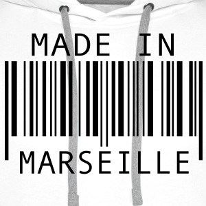 Made in Marseille Tee shirts - Sweat-shirt à capuche Premium pour hommes