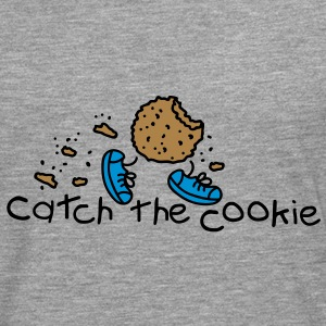catch the cookie Sweat-shirts - T-shirt manches longues Premium Homme