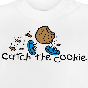 catch the cookie Børne sweatshirts - Baby T-shirt