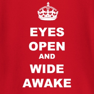 EYES OPEN WIDE AWAKE - Baby Long Sleeve T-Shirt