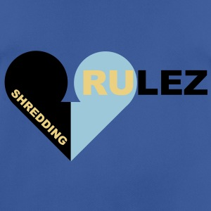 shredding rulez Pullover - Pustende T-skjorte for menn