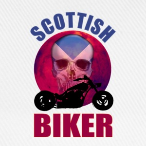 Scottish Biker Skull Chop T-Shirts - Baseball Cap