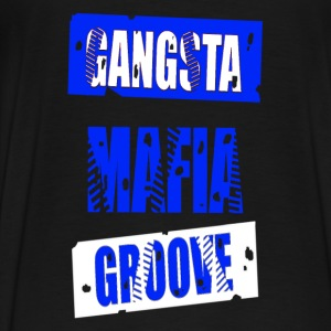 gangsta mafia groove Hoodies - Men's Premium T-Shirt