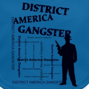 district america gangster Shirts - Baby Organic Bib