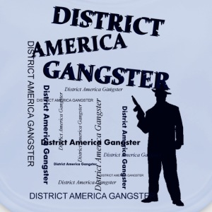 district america gangster Camisetas - Babero ecológico bebé
