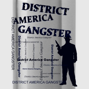 district america gangster Shirts - Water Bottle