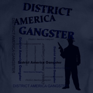 district america gangster Hoodies - Organic Short-sleeved Baby Bodysuit