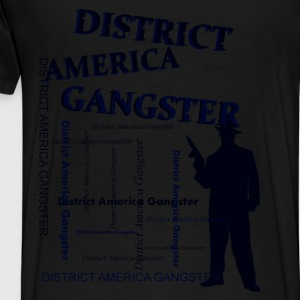district america gangster Felpe - Maglietta Premium da uomo