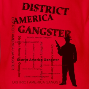district america gangster T-Shirts - Baby Bio-Kurzarm-Body
