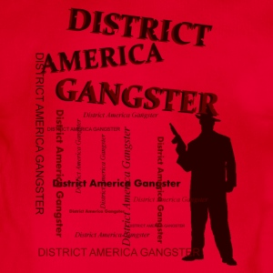 district america gangster Sudaderas - Body orgánico de maga corta para bebé