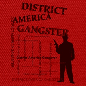 district america gangster Sweaters - Snapback cap