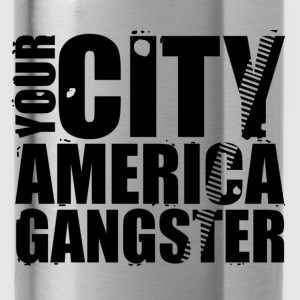 your city america gangster Shirts - Water Bottle