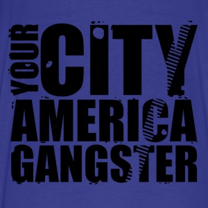 your city america gangster Hoodies - Men's Premium T-Shirt