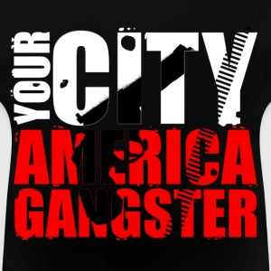 your city america gangster Tröjor - Baby-T-shirt