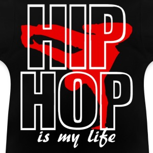 Veste à capuche enfant hip hop is my life - T-shirt Bébé