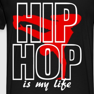 hip hop is my life Tröjor - Premium-T-shirt herr