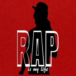rap is my life Bluzy - Czapka typu snapback