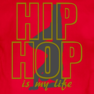 hip hop is my life Hoodies - Organic Short-sleeved Baby Bodysuit