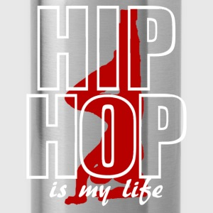 T shirt enfant hip hop is my life - Gourde