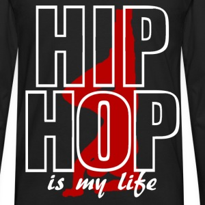 T shirt enfant hip hop is my life - T-shirt manches longues Premium Homme