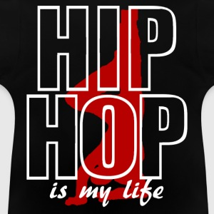 hip hop is my life Gensere - Baby-T-skjorte