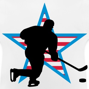 icehockey_star_a_3c Tee shirts Enfants - T-shirt Bébé