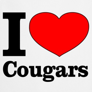 I love cougars Tee shirts - Tablier de cuisine