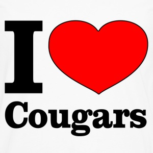 I love cougars Tee shirts - T-shirt manches longues Premium Homme