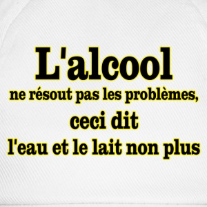alcool problemes Tee shirts - Casquette classique