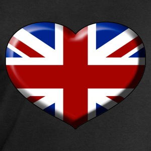 union jack heart Tee shirts - Sweat-shirt Homme Stanley & Stella