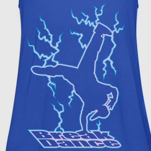 Electric Breakdance - Vrouwen tank top van Bella