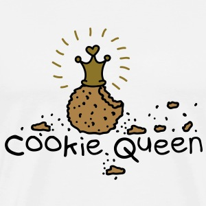 Cookie Queen Tee shirts manches longues - T-shirt Premium Homme