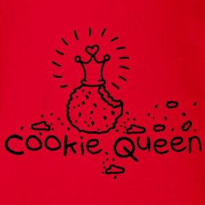Cookie Queen Barn-T-shirts - Ekologisk kortärmad babybody