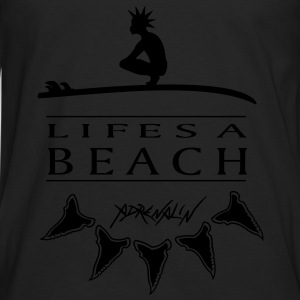 Lifes a Beach - Men's Premium Longsleeve Shirt