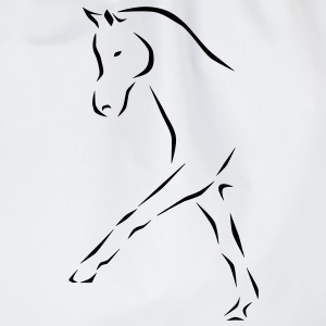 Dressage horse Kids' Shirts - Drawstring Bag